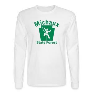 Michaux State Forest Keystone Climber - Men's Long Sleeve T-Shirt