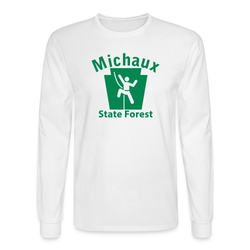 Michaux State Forest Keystone Climber - Men's Long Sleeve T-Shirt