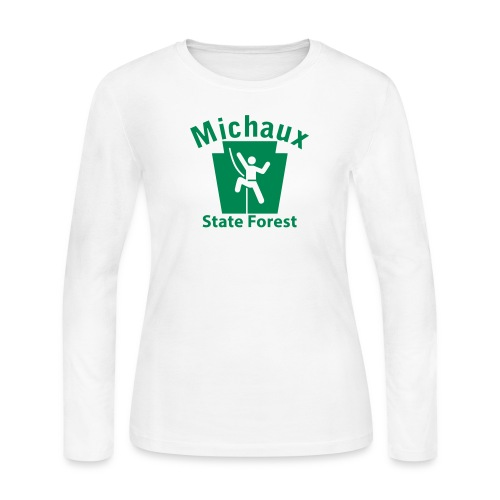 Michaux State Forest Keystone Climber - Women's Long Sleeve Jersey T-Shirt