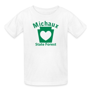 Michaux State Forest Keystone Heart - Kids' T-Shirt