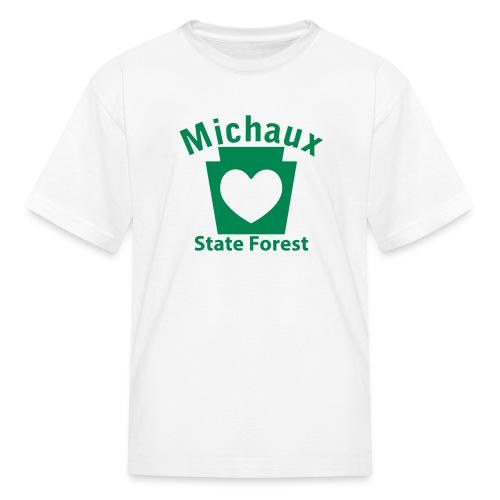 Michaux State Forest Keystone Heart - Kids' T-Shirt