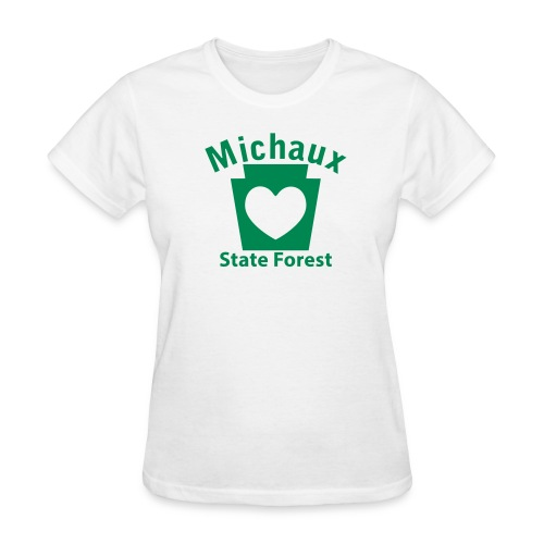 Michaux State Forest Keystone Heart - Women's T-Shirt