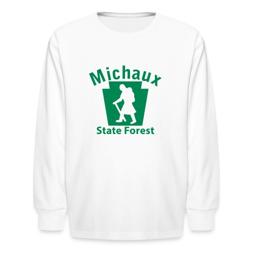 Michaux State Forest Keystone Hiker (female) - Kids' Long Sleeve T-Shirt
