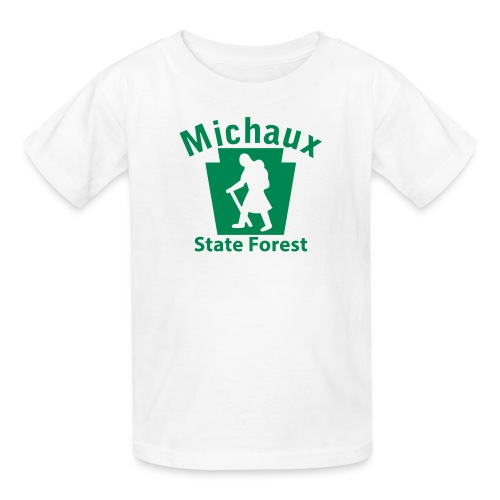 Michaux State Forest Keystone Hiker (female) - Kids' T-Shirt