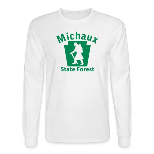 Michaux State Forest Keystone Hiker (female) - Men's Long Sleeve T-Shirt
