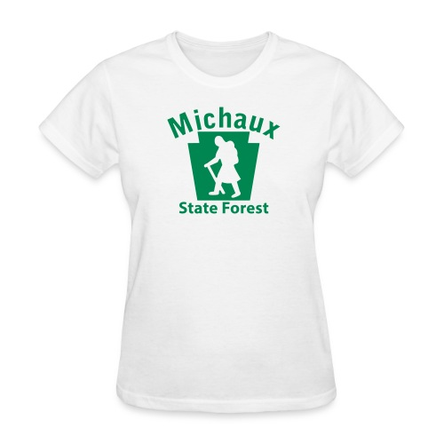 Michaux State Forest Keystone Hiker (female) - Women's T-Shirt