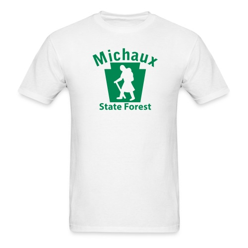 Michaux State Forest Keystone Hiker (female) - Men's T-Shirt