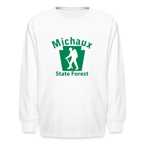 Michaux State Forest Keystone Hiker (male) - Kids' Long Sleeve T-Shirt