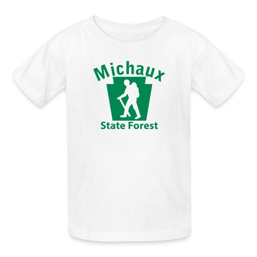 Michaux State Forest Keystone Hiker (male) - Kids' T-Shirt