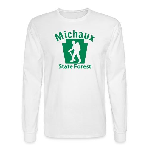 Michaux State Forest Keystone Hiker (male) - Men's Long Sleeve T-Shirt