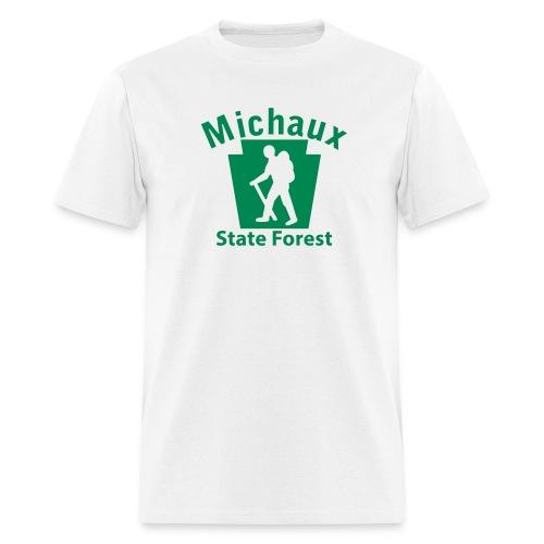Michaux State Forest Keystone Hiker (male) - Men's T-Shirt