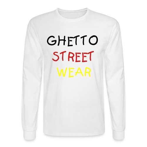 I Heart Ghetto Street Wear - Men's Long Sleeve T-Shirt