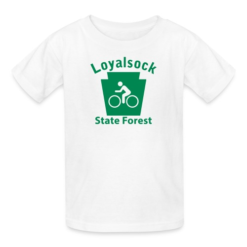 Loyalsock State Forest Keystone Biker - Kids' T-Shirt