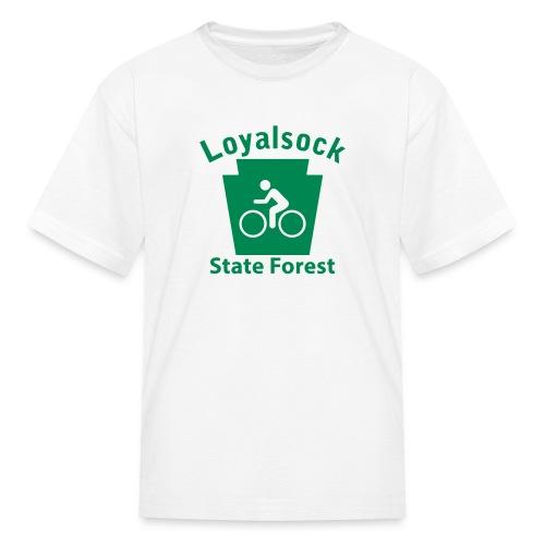 Loyalsock State Forest Keystone Biker - Kids' T-Shirt