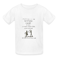 Kids' Shirts ~ Kids' T-Shirt ~ Kids' Swords, Daggers, & Poison Basic Tee