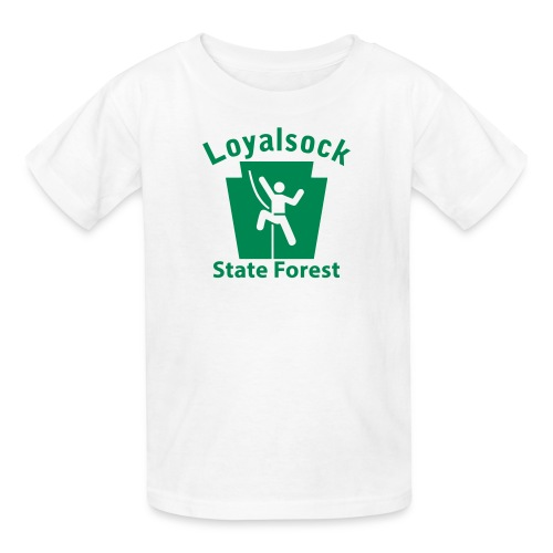 Loyalsock State Forest Keystone Climber - Kids' T-Shirt