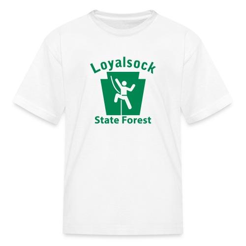 Loyalsock State Forest Keystone Climber - Kids' T-Shirt