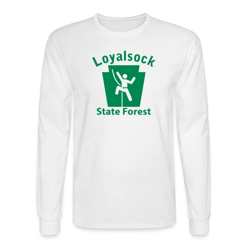 Loyalsock State Forest Keystone Climber - Men's Long Sleeve T-Shirt