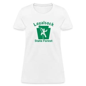 Loyalsock State Forest Keystone Climber - Women's T-Shirt