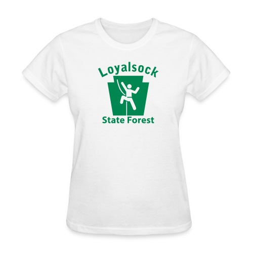 Loyalsock State Forest Keystone Climber - Women's T-Shirt