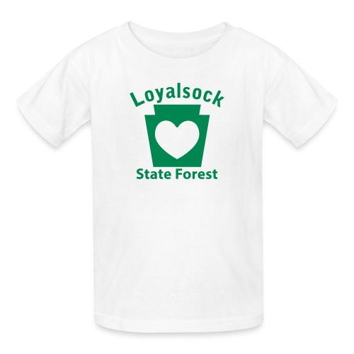 Loyalsock State Forest Keystone Heart - Kids' T-Shirt
