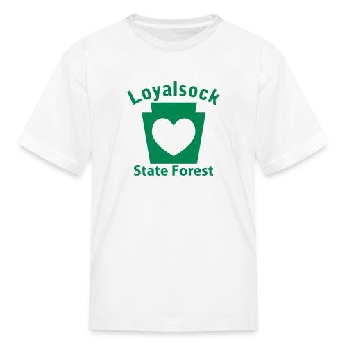 Loyalsock State Forest Keystone Heart - Kids' T-Shirt