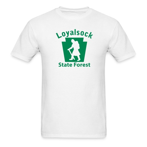 Loyalsock State Forest Keystone Hiker (female) - Men's T-Shirt