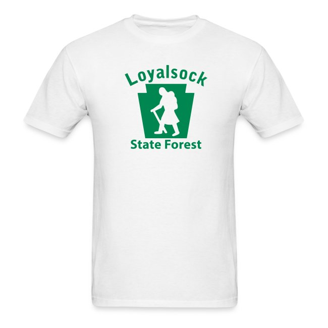 Loyalsock State Forest Keystone Hiker (female)