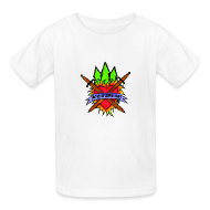 Kids' Shirts ~ Kids' T-Shirt ~ Kids' Bay Area Shakespeare Camp Color Logo Basic Tee