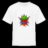 Kids' Shirts ~ Kids' T-Shirt ~ Kids' Bay Area Shakespeare Camp Color Logo Basic Tee