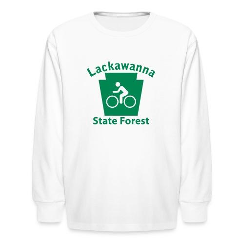 Lackawanna State Forest Keystone Biker - Kids' Long Sleeve T-Shirt