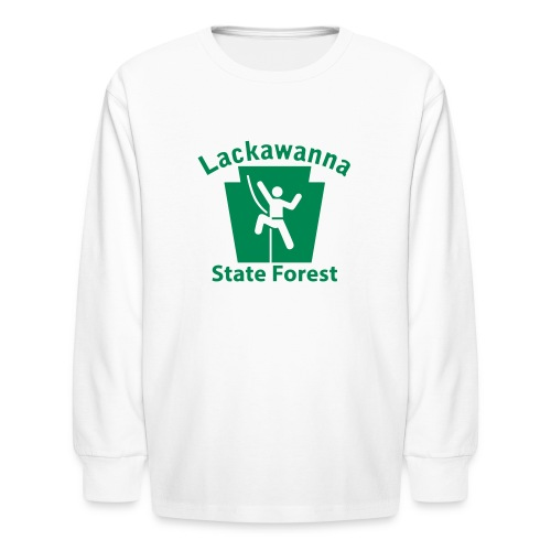 Lackawanna State Forest Keystone Climber - Kids' Long Sleeve T-Shirt