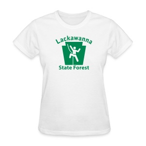 Lackawanna State Forest Keystone Climber - Women's T-Shirt