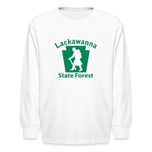 Lackawanna State Forest Keystone Hiker (female) - Kids' Long Sleeve T-Shirt