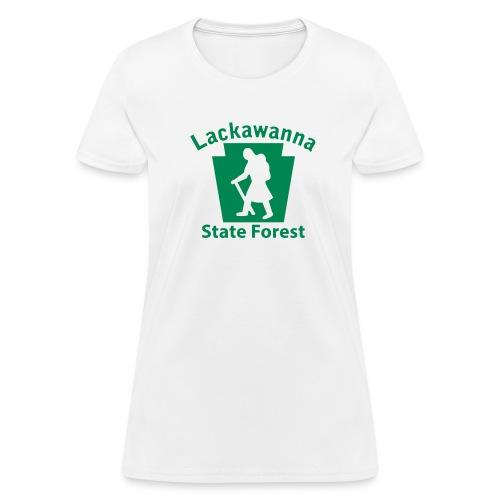Lackawanna State Forest Keystone Hiker (female) - Women's T-Shirt