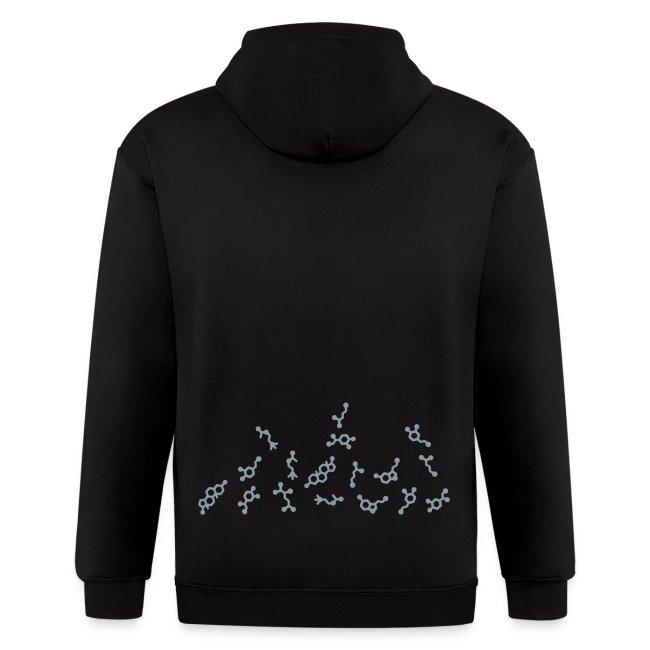 Floating Molecules Men's Sweatshirt
