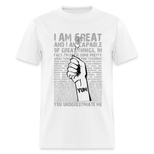 you underestimate me - Men's T-Shirt
