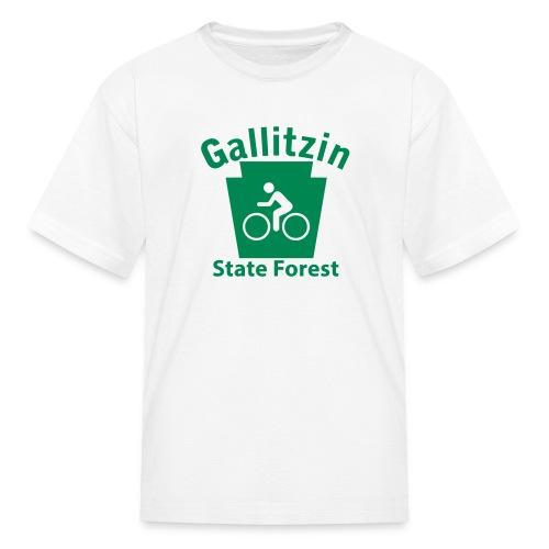 Gallitzin State Forest Keystone Biker - Kids' T-Shirt