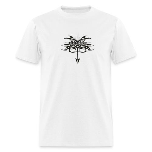 Damage T- Shirt - tribal Design 1 - Men's T-Shirt