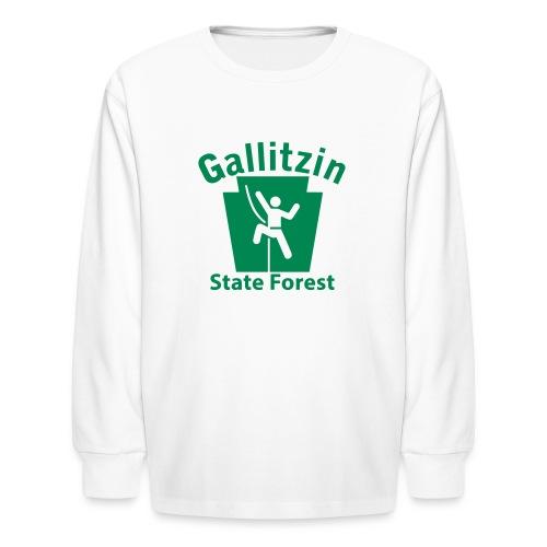 Gallitzin State Forest Keystone Climber - Kids' Long Sleeve T-Shirt