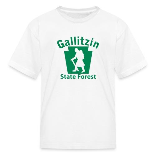 Gallitzin State Forest Keystone Hiker (female) - Kids' T-Shirt