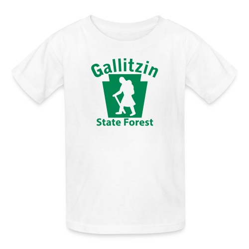 Gallitzin State Forest Keystone Hiker (female) - Kids' T-Shirt
