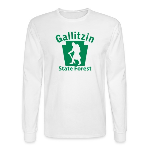 Gallitzin State Forest Keystone Hiker (female) - Men's Long Sleeve T-Shirt