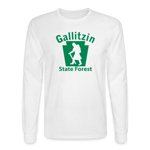 Gallitzin State Forest Keystone Hiker (female) - Men's Long Sleeve T-Shirt
