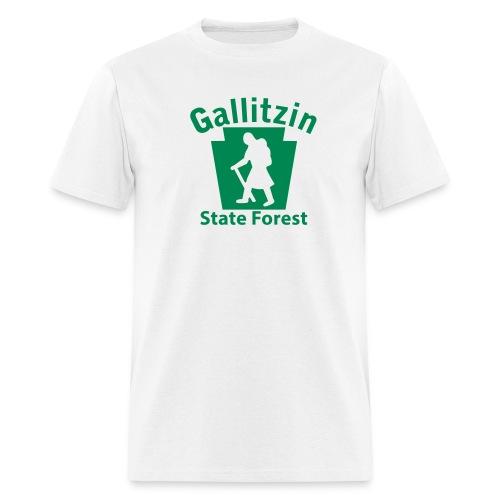 Gallitzin State Forest Keystone Hiker (female) - Men's T-Shirt