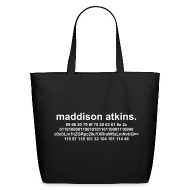 Bags & backpacks ~ Eco-Friendly Cotton Tote ~ The Solution.