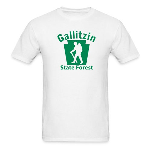 Gallitzin State Forest Keystone Hiker (male) - Men's T-Shirt