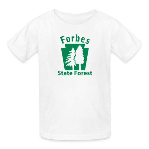 Forbes State Forest Keystone w/Trees - Kids' T-Shirt