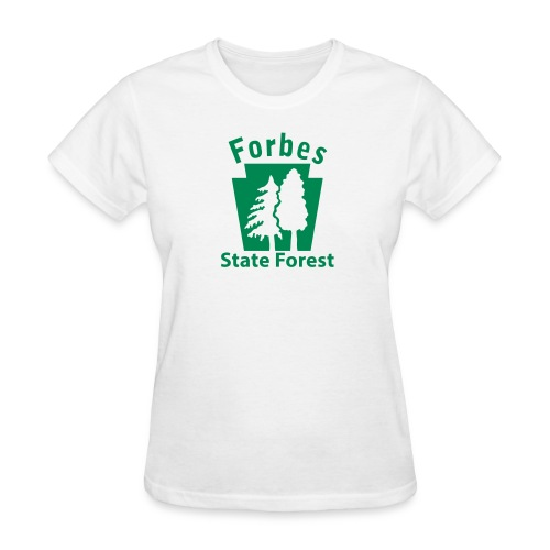 Forbes State Forest Keystone w/Trees - Women's T-Shirt