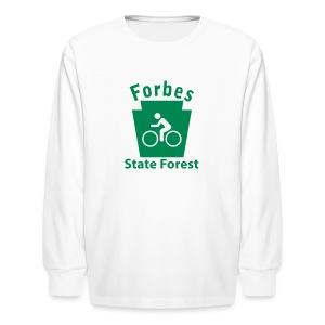Forbes State Forest Keystone Biker - Kids' Long Sleeve T-Shirt